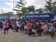 iciHaïti - Social : Le FAES poursuit ses distributions alimentaires auprès des plus vulnérables