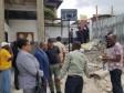 Haïti - Politique : Le Ministre Cadet au Collège mixte Ascension sur les lieux du dramatique accident