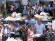 Haiti - Social : Port-au-Prince orphans and PHILCOY exchange gifts