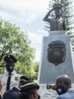 iciHaiti - PNH : A statue in tribute to the police officers