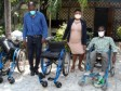 iciHaiti - Politic : Delivery of technical aids to professionals with disabilities