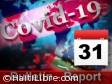 Haïti - Covid-19 : Bulletin quotidien 31 juillet 2020