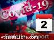 Haïti - Covid-19 : Bulletin quotidien 2 août 2020