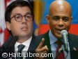 Haiti - Economy : Working session between the President Martelly and the IDB