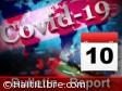 Haïti - Covid-19 : Bulletin quotidien 10 août 2020