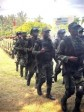 Haiti - FLASH : A contingent of FAd'H soldiers, deployed at the Malpasse-Jimaní border post