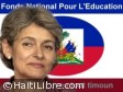 Haiti - Education : Irina Bokova salutes the initiative of Michel Martelly for the creation of FNE