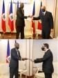 Haiti - Diplomacy : Two new ambassadors accredited to Haiti