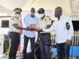 iciHaïti - Carrefour : Le Président Moïse et le DG de la PNH encouragent les policiers