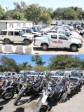 Haiti - Politic : Jovenel Moïse hands over the keys of a fleet of vehicles to the PNH