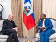 iciHaiti - Religion : Bishop Eugene Nugent, Representative of Pope Francis leaves Haiti