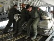 Haiti - Humanitarian : The 315th Airlift Wing has delivered 40 tons of humanitarian aid