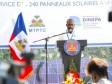 iciHaiti - Les Cayes : inauguration of a solar hydraulic pumping system