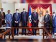 iciHaïti - Crise : La délégation de l'OIF reçue au Sénat