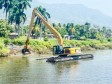 iciHaiti - North : Cleaning and reshaping of the Haut du Cap river