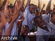 Haiti - Education : The promise of free education becomes a reality