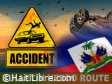 iciHaiti - Weekly road report : 36 accidents, at least 99 victims
