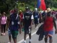 iciHaïti - Chiapas : Une caravane d'haïtiens marche vers les USA