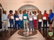 iciHaiti - Delmas : Certificate ceremony at the Municipal Palace