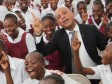 Haiti - Education : Inauguration of the new College Andrew Grene to Cité Soleil