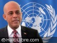 Haiti - Security : Martelly speaks of the Minustah