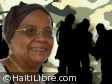 Haiti - Security : Mirlande Manigat in favor of a specialized armed force