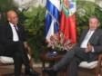 Haïti - Politique : Michel Martelly a rencontré Raúl Castro