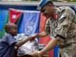 Haiti - Humanitarian : The Jordanian peacekeepers help Haitian students