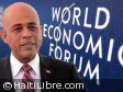 Haiti - Economy : The President Martelly to the 42nd World Economic Forum in Davos