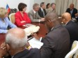 Haiti - Politic : The President Martelly met with Canadian parliamentarians of ParlAmericas