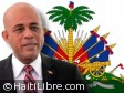 Haiti - Politic : The President Martelly congratulates the Deputies for the ratification of PM