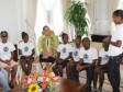 Haiti - Social : Discussions between children and the First Lady