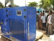 Haiti - Technology : Inauguration of an Atmospheric Water Generator in Fort-Liberté
