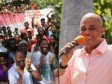 Haiti - Reconstruction : Visit of Martelly to Jalouzi (Petion ville)