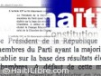 Haiti - Politic : «The error» in Article 137, who is right ?