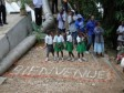 Haiti - Social : First chlorinated municipal water system, in the Central Plateau