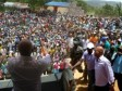Haiti - Politic : The President Martelly on tour in the South East