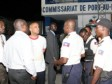 Haiti - Politic : Night Tour of the Prime Minister