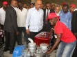 Haiti - Agriculture : Venezuela and President Martelly alongside peasants