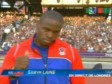 Haiti - Sports : Samyr Laine, did not win a medal, but proudly represented Haiti
