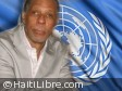 Haiti - Politic : Michel A. Péan, candidate to the United Nations...