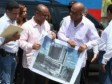 Haiti - Reconstruction : President Martelly visited several worksites, few figures