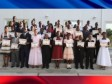 Haiti - Education : 40 laureates of official examinations, received at the National Palace