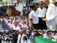 Haiti - Education : Martelly met the youth Haitian