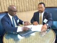 Haiti - Training : Signing of a MoU with the University of Auburn