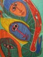 Haiti - Culture : Exhibition and sale of works by Saint-Soleil artists
