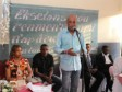 Haiti - Reconstruction : The President Martelly on tour in the South