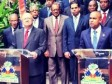 Haiti - Politic : Official visit of Dominican Chancellor, Carlos Morales Troncoso