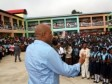 Haiti - Politic : Martelly inaugurates 1 high school and 3 hill lakes in the Northwest