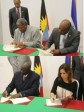 Haiti - Diplomacy : Signature of 2 cooperation agreements with Antigua & Barbuda